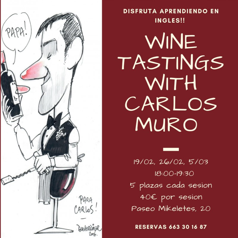 LEARN WINE APPRECIATION WITH SOMMELIER CARLOS MURO